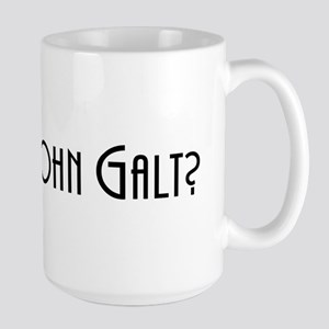 Who is John Galt? Atlas Shrugged Large Mug